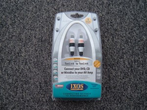 IXOS CABLE XHD308 fronte
