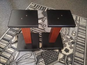 Piedistalli per diffusori in legno